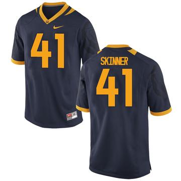 Men's Ben Skinner California Golden Bears Replica Gold Navy Football College Jersey