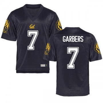 Men's Chase Garbers California Golden Bears Game Gold Navy Football College Jersey