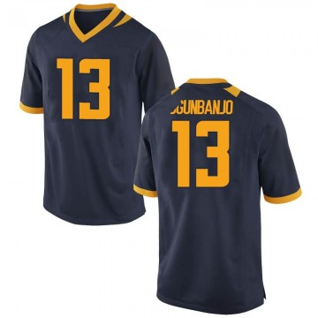 Men's Joseph Ogunbanjo California Golden Bears Nike Replica Gold Navy Football College Jersey