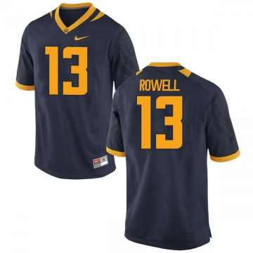 Men's Robby Rowell California Golden Bears Nike Game Gold Navy Football College Jersey