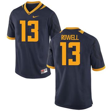 Men's Robby Rowell California Golden Bears Nike Replica Gold Navy Football College Jersey