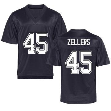 Men's Slater Zellers California Golden Bears Replica Gold Navy Football College Jersey