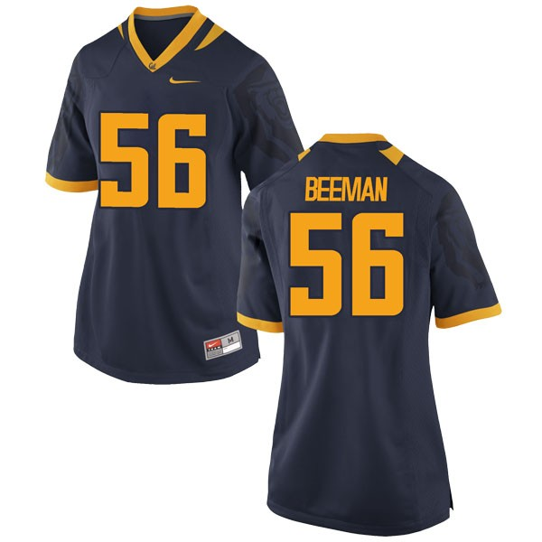 Women's Jack Beeman California Golden Bears Nike Game Gold Navy Football College Jersey