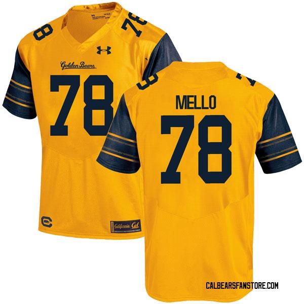 Youth Brandon Mello California Golden Bears Under Armour Replica Gold Alternate Football College Jersey