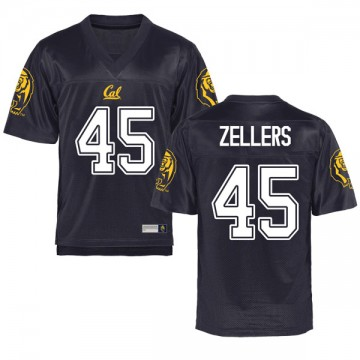 Youth Slater Zellers California Golden Bears Replica Gold Navy Football College Jersey
